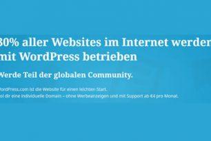 WordPress : Angstmache oder Kundensorge?
